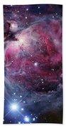 The Orion Nebula Beach Towel by Robert Gendler