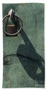 The Padlock, Ring And Shadow Beach Towel