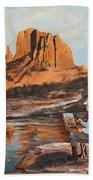 The Painter Woods Beach Towel