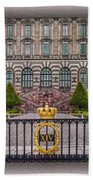 The Palace Courtyard Beach Towel