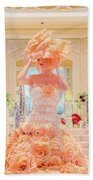 The Palazzo Casino Venetian Rose Dress Beach Towel