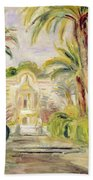 The Palm Trees Beach Towel