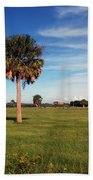 The Palmetto Tree Beach Towel