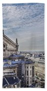 The Paris Opera 5 Art Beach Towel