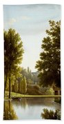 The Park At Mortefontaine Beach Towel