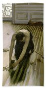 The Parquet Planers - Gustave Caillebotte Beach Towel