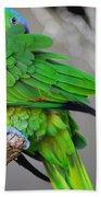 The Parrot Beach Towel