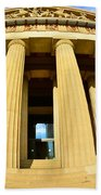The Parthenon In Nashville Tennessee 3 Beach Towel