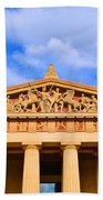The Parthenon In Nashville Tennessee  Beach Towel