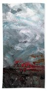 The Passing Storm Beach Towel