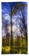 The Pastel Forest Beach Towel