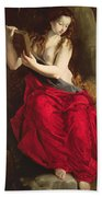 The Penitent Magdalen Beach Towel