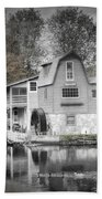 The Peterson Mill In Saugatuck Michigan Beach Towel