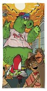 The Pherocious Phanatic Beach Towel