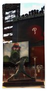The Phillies - Steve Carlton Beach Towel