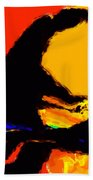 The Pianist Beach Towel