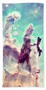 The Pillars Of Creation  Beach Towel