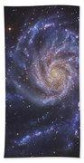 The Pinwheel Galaxy, Also Known As Ngc Beach Towel