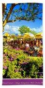 The Plaza Magic Kingdom Walt Disney World Beach Towel