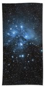 The Pleiades, Also Known As The Seven Beach Towel by John Davis