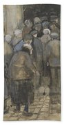 The Poor And Money The Hague, September - October 1882 Vincent Van Gogh 1853  1890 Beach Towel