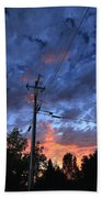 The Power Of Sunset Beach Towel