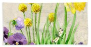 The Promise Of Spring - Dragonfly Beach Towel