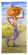 The Pumpkinhead Beach Towel