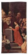 The Purification Of The Virgin 1640 Beach Towel