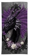 The Purple Dragon Beach Towel