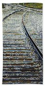The Rails Edge Beach Towel