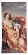 The Rape Of Europa 1639 Beach Towel