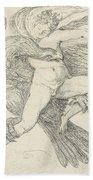 The Rape Of Ganymede Beach Towel