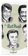 The Rat Pack Beach Towel by Greg Joens