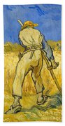 The Reaper Beach Towel by Vincent van Gogh