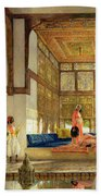 The Reception Beach Towel by John Frederick Lewis