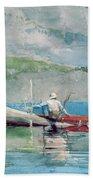 The Red Canoe Beach Sheet