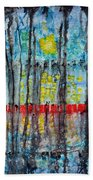 The Red Dock Beach Towel