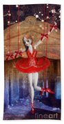 The Red Shoes Beach Towel