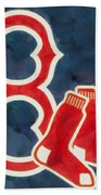 The Red Sox Beach Towel