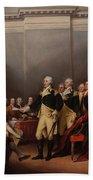 The Resignation Of General George Washington Beach Towel