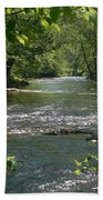 The River In Spring Beach Towel