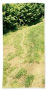 The Road Less Traveled Beach Towel