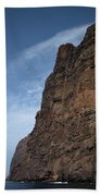 The Rocks Of Los Gigantes 2 Beach Towel