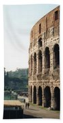 The Roman Colosseum Beach Towel