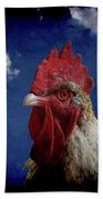 The Rooster Beach Towel