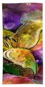 The Roses In The Sheep Dream Beach Towel