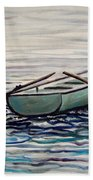 The Row Boat Beach Towel