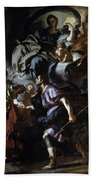 The Royal Hunt Of Dido And Aeneas Beach Towel