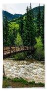 The Rushing Animas River - Colorado Beach Towel